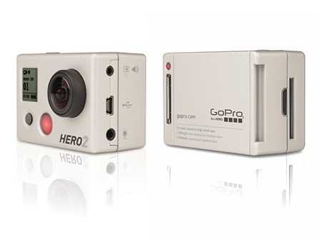 GoPro Hero 2 Front & Back
