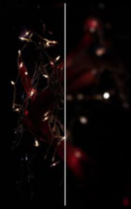 Bokeh Before & After