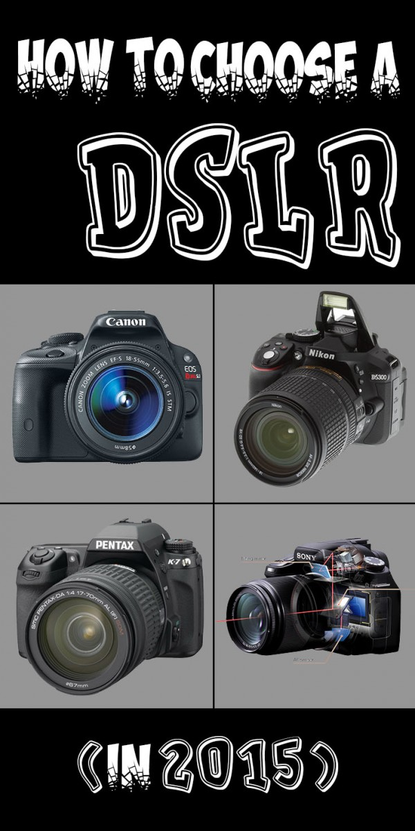 How To Choose A DSLR in 2015
